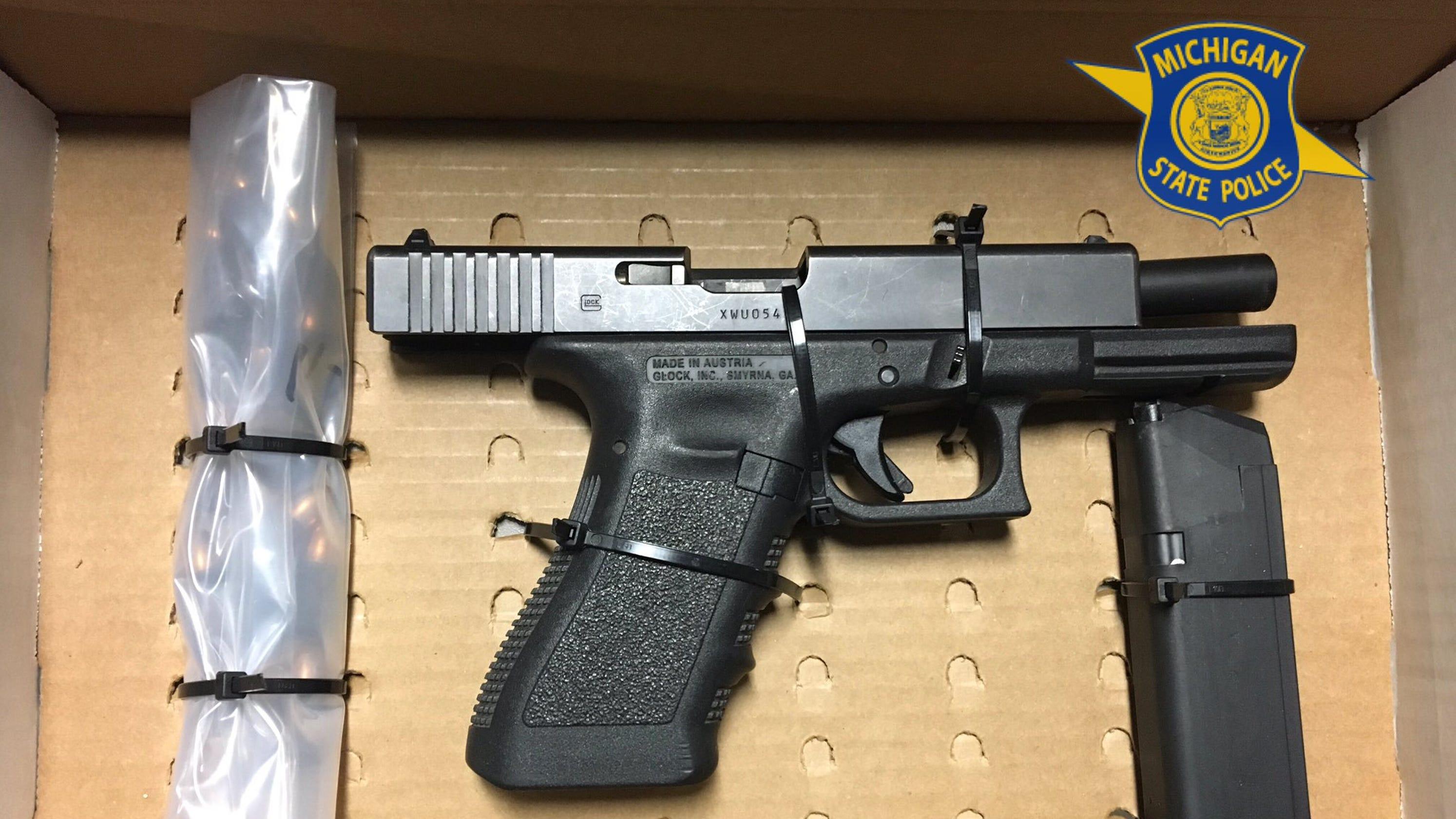 MSP find stolen gun hidden in Detroit man's car fuse box ... Ga Fuse Box on