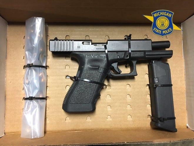 Gun retrieved from Detroit resident's car.