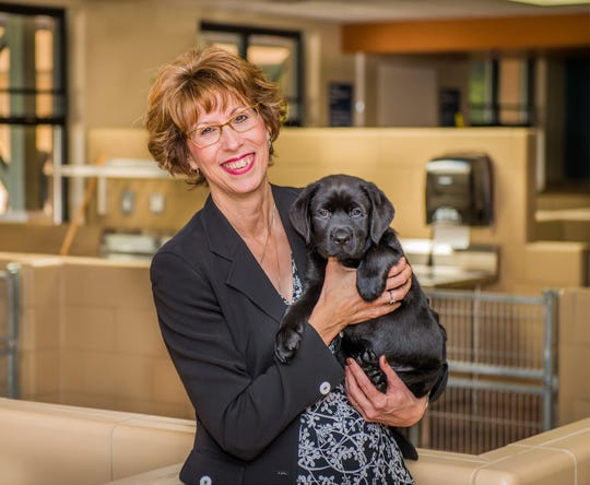 Sue Daniels, president and CEO of Leader Dogs for the Blind.