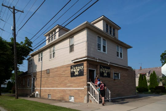 Located in a residential neighborhood, the Gold Star Bar is Wyandotte's oldest drinking establishment, founded in 1923 as a pool hall and blind pig.
