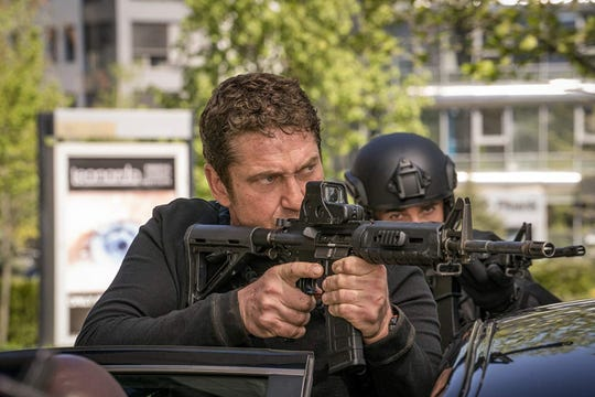 "Gerard Butler in ""Angel Has Fallen."""
