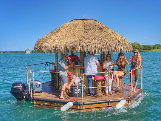 Tiki boats operated by the new startup venture Aloha Tiki Tours have proven popular for bachelorette parties and corporate outings.