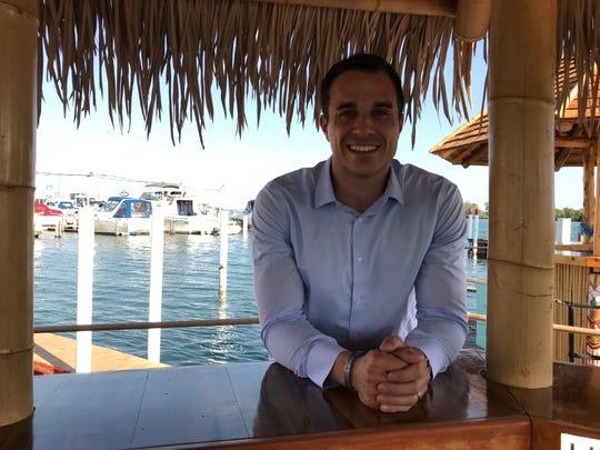 John Moylan, co-founder of Aloha Tiki Tours, in an Aug. 19, 2019 photo.