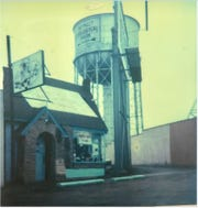The original Modern Skate at 10 Mile and Woodward by the Detroit Zoo water tower, before I-696 was built.
