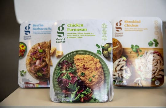 Target is rolling out a new internal brand called Good & Gather including prepared meals like Chicken Parmesan.