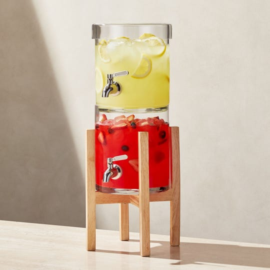 Stacking Drink Dispenser with Merge Stand.