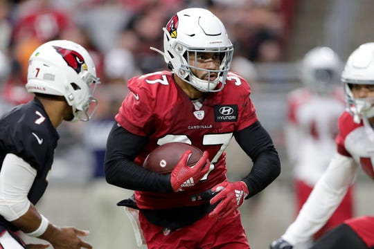 A hand injury will keep Arizona Cardinals wide receiver Hakeem Butler (17) out of the rest of the preseason, and could send him to injured reserve to start the season.