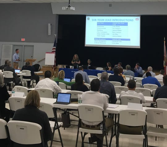 Stakeholders gathered in Clewiston to talk about the future of Lake Okeechobee releases.