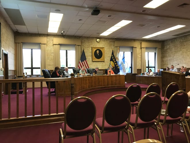 City Commissioners set the 2019 tax levy Tuesday.
