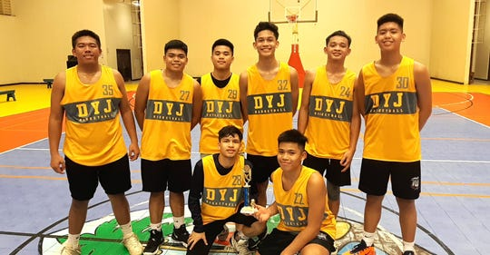 The Yellowjackets finished third in the Under-18 Boys Division Monday night at the Guam Sports Complex Gym.