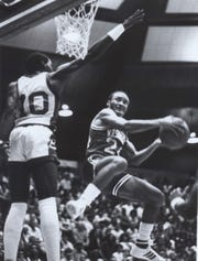 Washington High School's Darrin Fitzgerald, pictured in 1982, played for Butler.