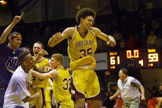 Bloomington North's Jared Jeffries (35) won Mr. Basketball in 2000.