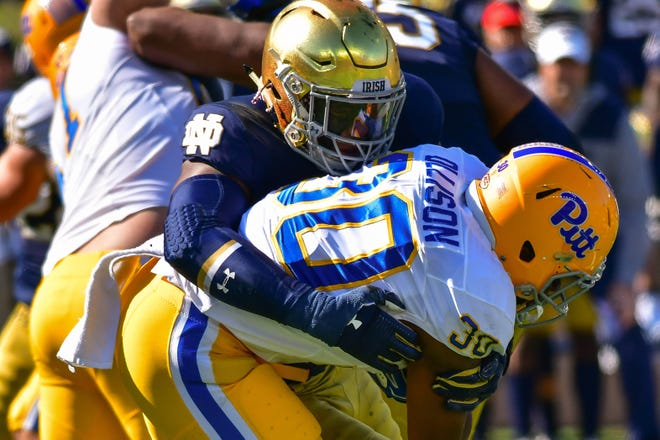 Notre Dame Football Khalid Kareem S Bond With Father Pushes Captain To Stardom