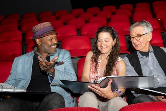 Directors of 'The Big Play Festival!' are, from left, Godfrey Simmons, Jr., Beth Milles and Bob Moss.