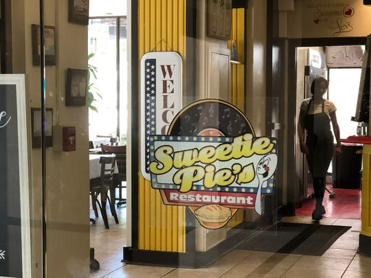 Sweetie Pie's has moved out of its location in the Plaza building in downtown Jackson.