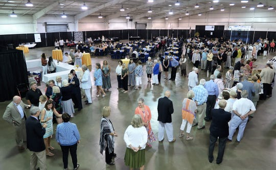 More than 250 people were in attendance for the Jackson-Madison County Library's fundraiser on Monday at the Fairgrounds Arena.