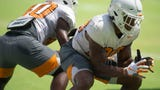 Tennessee practiced Tuesday in Knoxville