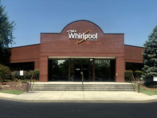 The Whirlpool Corporation on North Peter's Road. Knoxville Police officer Dennis Bible parked his police cruiser in the Whirlpool parking lot before meeting with fellow-KPD employee Elizabeth Smith at the Best Western hotel next door.