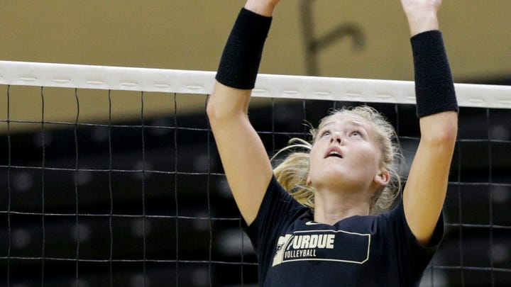 Purdue volleyball's Hayley Bush continues to exceed expectations