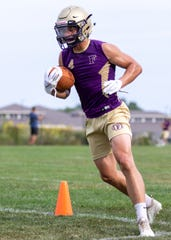 Fowlerville hopes to use Kaleb Chappell's track speed to spice up its offense.