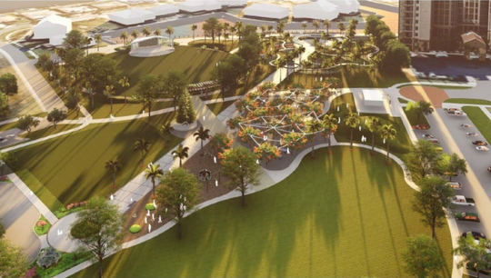 Marco Island City Council approved in March 2019 the update for the Veterans' Community Park master plan.