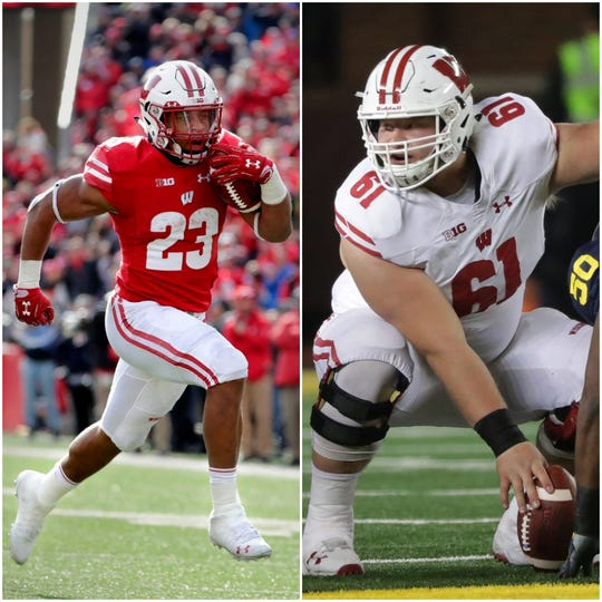 Jonathan Taylor and Tyler Biadasz are first-team preseason All-Americans, as selected by The Associated Press.