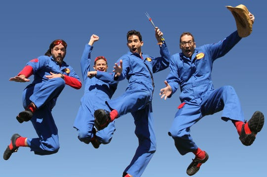Imagination Movers is a band that plays rock music for kids.