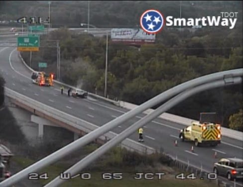 Cargo Fire on I-40 on Aug. 19