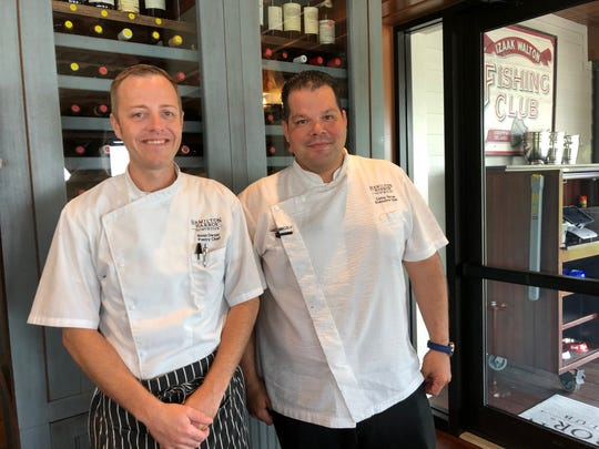 Pastry Chef Sean Dwyer and Executive Chef Carlos Torres of Hamilton Harbor Yacht Club in East Naples will team up for the Paradise Coast Wine and Food Experience on November 23.