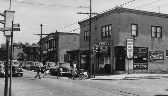 This file photo of the corner of River Road and 32nd Street in Camden marks the scene of the deadliest one-man shooting spree in the city's history. On Sept. 6, 1949, Howard Unruh killed 13 people, including the owners or the River Road Pharmacy, before surrendering to police during a standoff in his apartment.