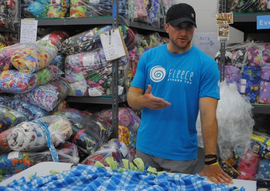Nicholas Kristock, Fleece and Thank You's founder, has ran the nonprofit since 2015.