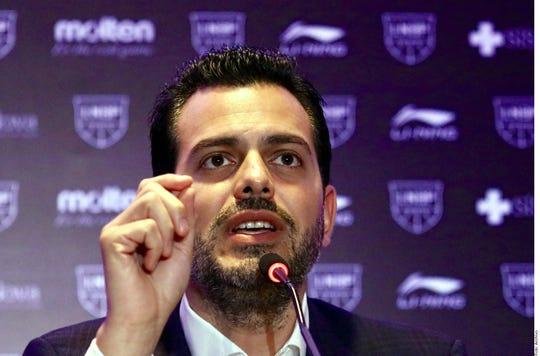 El ex jugador del Real Madrid Gustavo Ayón acusó al presidente de la LNBP, Sergio Ganem (foto), y a su equipo conformado por Alonso Izaguirre y Gabriel Villarreal como los responsables de bloquearle la membresía por conflicto interno de intereses.