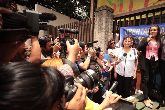 El caso de Evelyn Hernández atrajo la atención internacional.