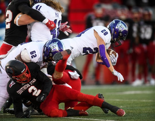 Weber State running back Josh Davis won the FCS' Jerry Rice Award last season.