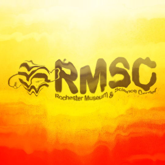 Rochester Museum & Science Center's overheated logo