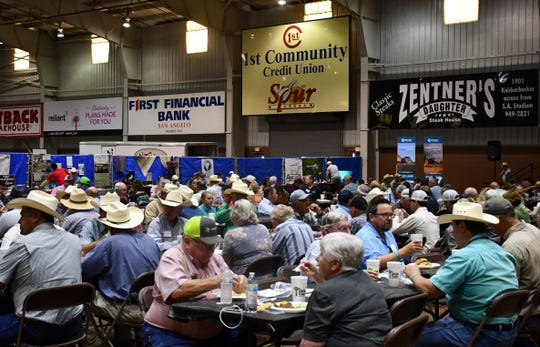 Texas Sheep and Goat Expo attendees enjoyed lunch and dinners featuring lamb each day.