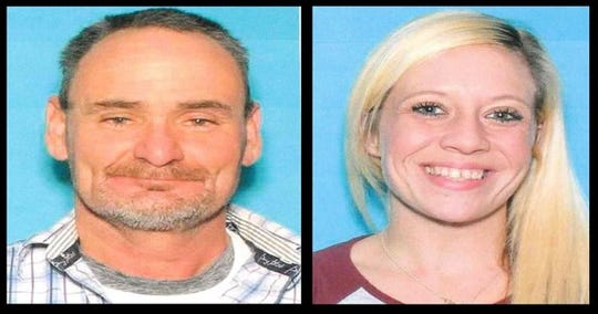 Drivers license photos, from left to right:  William Harris and Brittany Cowley