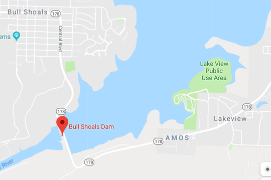 A search continues for a man using a walker who may have drowned at Bull Shoals Lake.