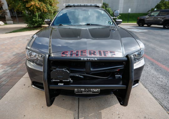Five Greene County patrol cars are equipped with StarChase technology.