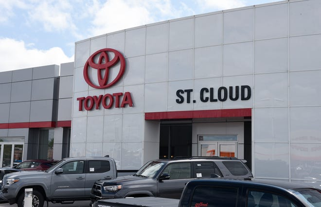St. Cloud Toyota is pictured Tuesday, Aug. 20, 2019. The dealership won three Best of Central Minnesota awards this year.
