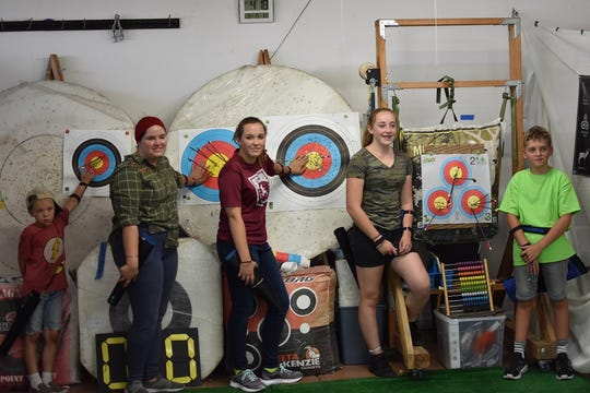 June Montenegro's Archer's Cave class in St. George.