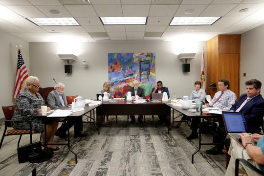 The Independent Ethics Board meeting Tuesday, Aug. 20, 2019.