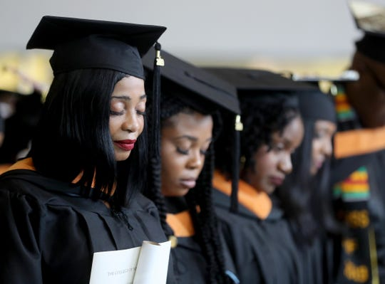 The College of New Rochelle held its final graduation ceremony Aug. 20, 2019. The 115 year old college, which is closing as the summer semester comes to an end, held the graduation ceremony for students who completed their degree requirements over the summer.