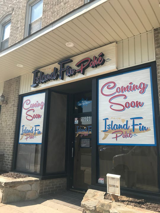 Island Fin Poke on Delaware Avenue in Wilmington's Trolley Square will possibly be open by Sept. 15.