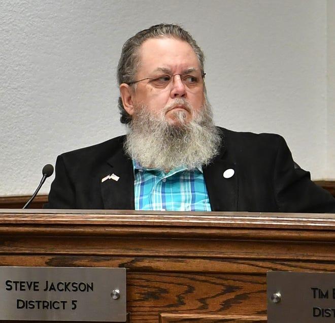District 3 Councilor Steve Jackson