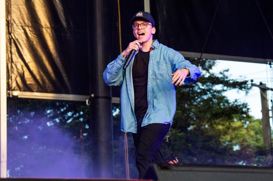 "Rapper Logic announced in a freestyle video ""No Pressure"" that he is ""having a little baby boy."""