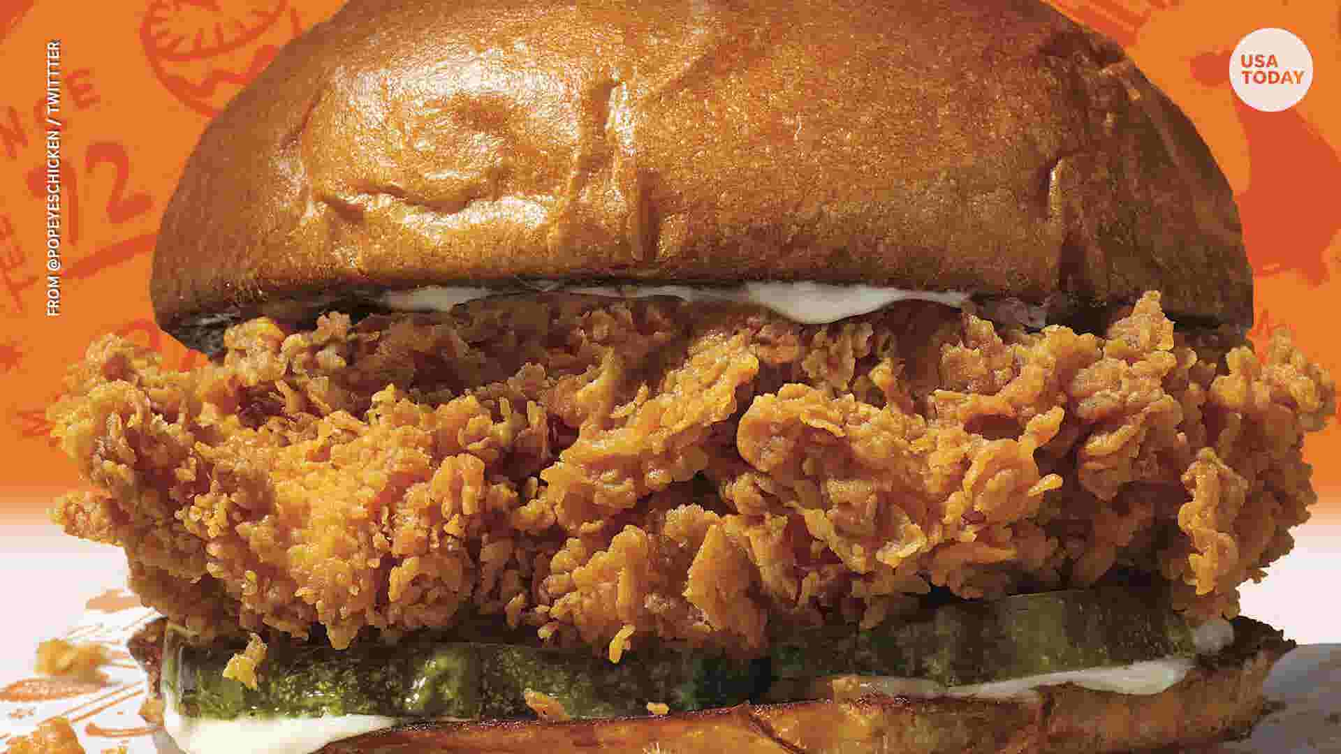 If you're trying to get a Popeyes chicken sandwich in Indianapolis, good luck
