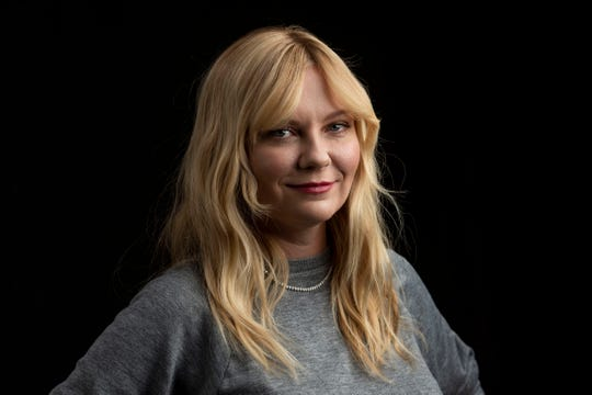"Kirsten Dunst, who stars in Showtime's ""On Becoming a God in Central Florida,"" poses for a portrait in New York earlier this month."