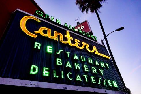 Canter's Deli in Los Angeles
