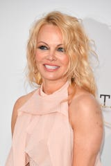 Pamela Anderson attends the amfAR Cannes Gala on May 23, 2019 in Cap d'Antibes, France.